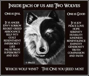 Two Wolves Fable