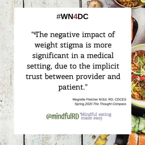 The negative impact of weight stigma