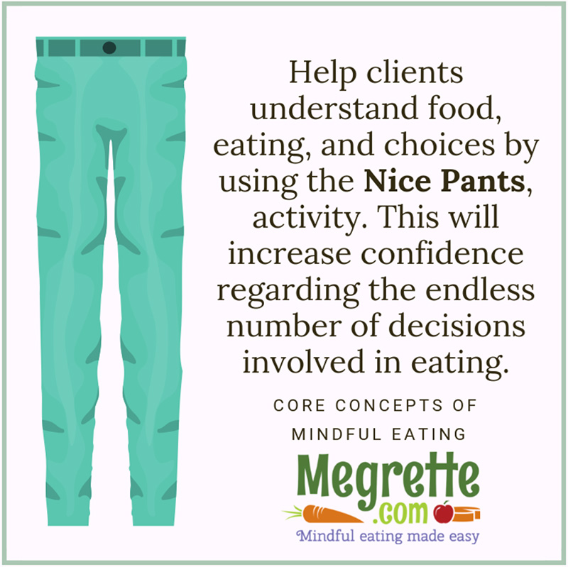 Nice pants counseling activity