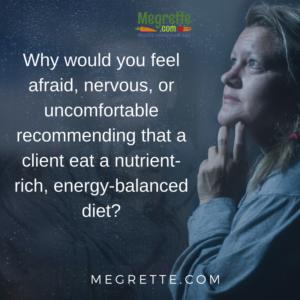 Nutrient-rich energy-balanced diet
